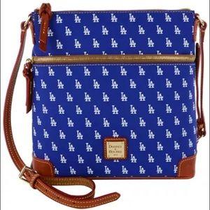 LA DODGERS Dooney & Bourke Crossbody Shoulder Bag